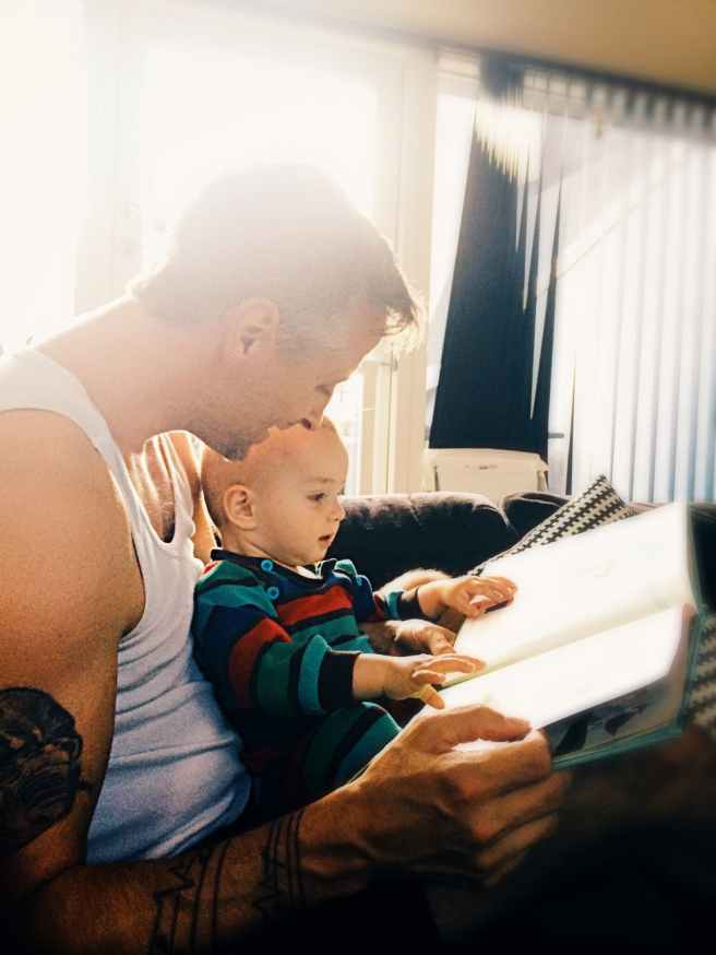 adult baby book boy